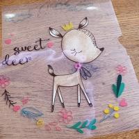 Nažehľovacia nálepka - Cute Deer