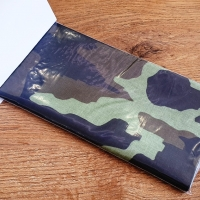 Nažehľovacia záplata - 43 x 20 cm - Maskáč