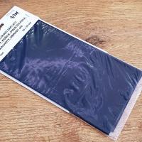 Nažehľovacia záplata - 43 x 20 cm - Čierna