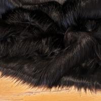 Kožušina umelá - Black new Top - cena za 10 cm