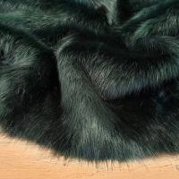 Kožušina huňatá - Dark Emerald - cena za 10 cm