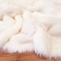 Kožušina umelá - elegantná jemne krémová - cena za 10 cm