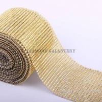 Kamienková stuha zlatá - cena za 10 cm