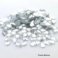 Ozdobné kamienky 5 x 8 mm - Crystal