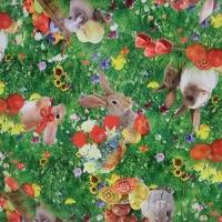 PVC obrus - Zajačiky
