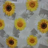PVC obrus - slnečnice