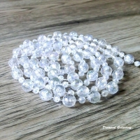 Girlanda perličková 10 mm - obrusovaná s dúhovým efektom