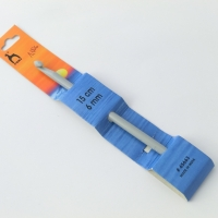 Háčik plastový 15 cm - veľkosť 6 mm