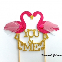 Ozdobný zápich - You and me - jednostranný