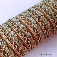 Bavlnená krajka - ťavia - 13 mm