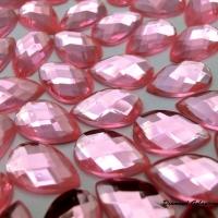 Ozdobné kamienky 8 x 13 mm - Svetloružové
