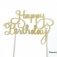 Ozdobný nápis Happy Birthday