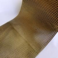 Kamienková stuha zlatočierna - cena za 10 cm