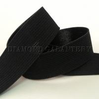 Guma nohavicová 25 mm - čierna