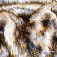 Kožušina umelá - Lev II - cena za 10 cm