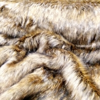 Kožušina umelá - Lev IV - zlatý - cena za 10 cm