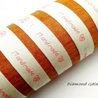 Handmade stuha - 15 mm - ružová