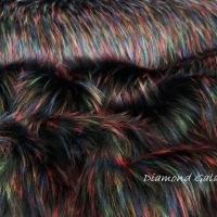 Kožušina huňatá - Firework - cena za 10 cm