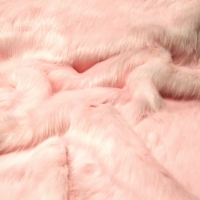 Kožušina umelá - Ružová 1600 mm - cena za 10 cm