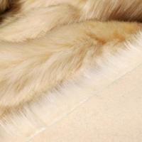 Kožušina umelá - svetlá krémová 1600 mm - cena za 10 cm