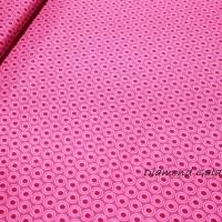 Bavlnená látka Art Gallery Fabrics - Oval Elements ružová - cena za 10 cm