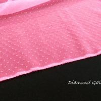 Tyl guličky ružové - cena za 10 centimetrov