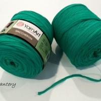 Yarn Art - Maccheroni - Zelená