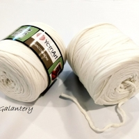 Yarn Art - Maccheroni - Biela