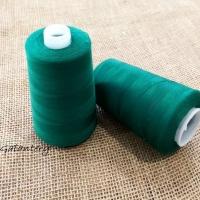 Polyesterová niť Hard - 5000 - Zelená smaragd