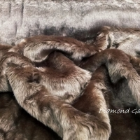 Kožušina poťahová - Hnedá 35540 - cena za 10 centimetrov