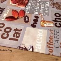 Dekoračná látka - Chocholat - cena za 10 centimetrov