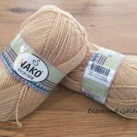 Nako - Vizon Simli - 219 - Béžová