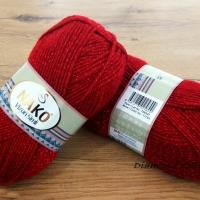 Nako - Vizon Simli - 1175 - červená