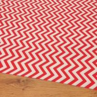Bavlnená látka - Vzory červené - Cena za 10 centimetrov
