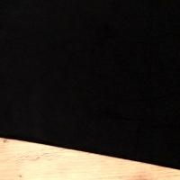 Bavlnená látka - Čierna- Cena za 10 centimetrov