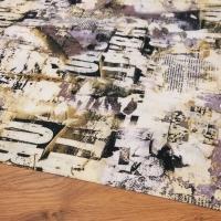 Bavlnená látka - Potlač Mix - cena za 10 centimetrov