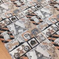 Bavlnená látka - Mačky Patchwork - cena za 10 centimetrov
