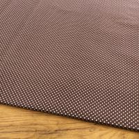 Bavlnená látka - Bodky na hnedom 2 mm - cena za 10 cm
