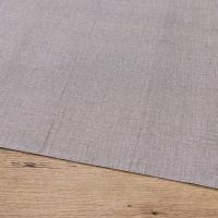 Bavlnená látka - Šedo hnedá s melírom - cena za 10 cm