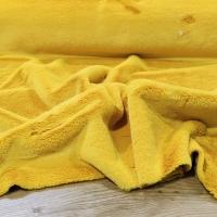 Kožušina poťahová - Žltá - cena za 10 centimetrov