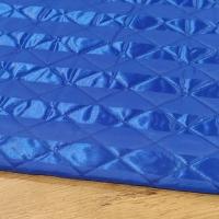 Prešívaná vetrovkova látka - modrá - cena za 10 centimetrov