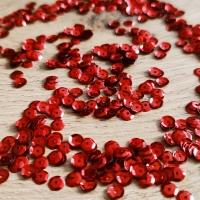 Flitre okrúhle - červené - 10 gramov