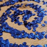 Flitre okrúhle - kráľovská modrá - 10 gramov