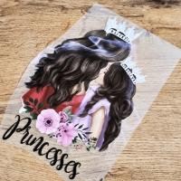 Nažehľovacia nálepka - Princesses - 18,1 x 26 cm
