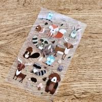 Nažehľovacia nálepka - Forest Animals - 15,6 x 8,9 cm