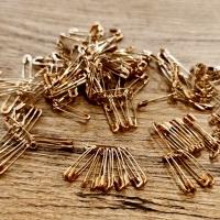 Zicherky 19 mm - zlaté