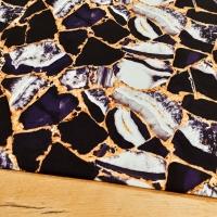 Kostýmovka - Čierno zlatá - cena za 10 cm