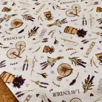 Bavlnená látka - Lavander - cena za 10 centimetrov