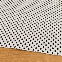 Bavlnená látka - Srdiečka čierne - cena za 10 centimetrov