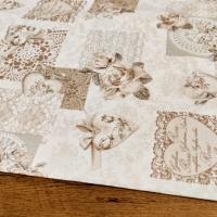Bavlna režná - Rosa - cena za 10 centimetrov